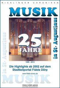 eBook: 25 Jahre Musik in St. Augustinus: 1988 - 2013
